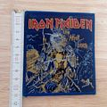 iron maiden - vintage - patch - live after death