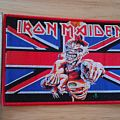 iron maiden - patch - england