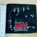 kiss - vintage - patch - dressed to kill