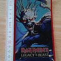 iron maiden - patch - legacy of the beast