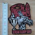 death - patch - shape - scream bloody gore