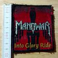 manowar - patch - into glory ride