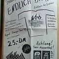 sodom / sepultura - flyer - agent orange tour 89