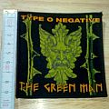 type - o - negative - woven - patch - the green man