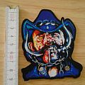 motörhead - patch - shape - lemmy