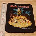 iron maiden - patch - holy smoke