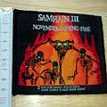 samhain - patch - november coming fire