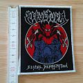 sepultura - patch - bestial devastation