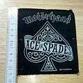 motorhead - vintage - patch - ace of spades