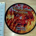 demolition hammer - patch - tortured existence