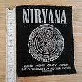 nirvana - vintage - patch from 1993