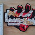 judas priest - patch - shape - british steel