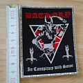 bathory - patch - in conspiracy with satan