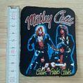 mötley crüe - patch - girls girls girls