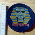 iron maiden - vintage - patch - powerslave
