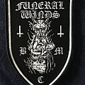 Funeral Winds - Woven shield patch