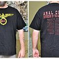 Anal Cunt - Defenders of the Hate Tour Shirt