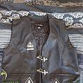 Overkill leather vest  Battle Jacket