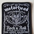 "Motörhead ""J.D."" patch limited edition"