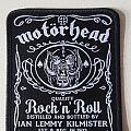 "Motörhead ""J.D."" patch limited edition"