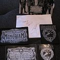 Memoriam - Patch - Memoriam patches and autographs