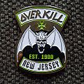 "Overkill ""New Jersey"" pin Pin / Badge"