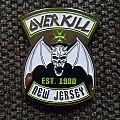 "Overkill ""New Jersey"" pin Pin / Badge"