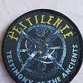 PESTILENCE 'Testimony...' circle patch