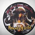 "Running Wild ""Welcome To Black Hand Inn"" patch, black border"