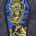 """Iron Maiden """"Holy Smoke"""" coffin patch lim. Edition"""