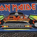 """Iron Maiden """"Somewhere In Time"""" patch lim. Edition"""