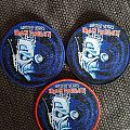 "Iron Maiden ""Wasted Years"" lim. circle patches"