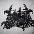 """Attic - Patch - ATTIC """"Logo"""" patch org. Band Merch lim. Ed. Sold Out"""