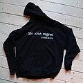 "Unbroken - TShirt or Longsleeve - Unbroken - ""Life.Love.Regret"" hooded sweatshirt"