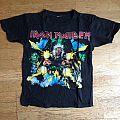 "Iron Maiden ""Tailgunner"" tour shirt"