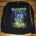 """Iron Maiden - TShirt or Longsleeve - Iron Maiden """"Somewhere Back In Time"""" long sleeve - RARE"""