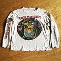 "iron Maiden ""World Piece Tour '83"" long sleeve TShirt or Longsleeve"