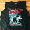 Demolition Hammer - TShirt or Longsleeve - Demolition Hammer Tour Shirt