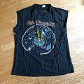 "Iron Maiden ""World Piece Tour '83"" sleeveless shirt"
