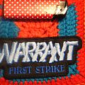 "Warrant - Patch - WARRANT Patch  ""First Strike""    ***NEW***"