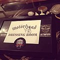 Motörhead dressing room sign signed by Lemmy  Other Collectable