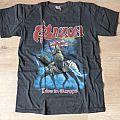 Saxon tour t-shirt