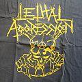 Lethal Aggression Logo L TShirt or Longsleeve