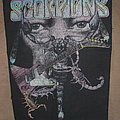 Scorpions - Patch - Vintage Scorpions Backpatch