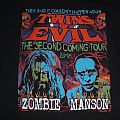 Bootleg Twins of evil Marylin manson  & Rob zombie tour 2018