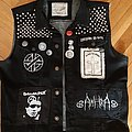 Black Crust/D-beat Vest