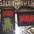 Blood Incantation woven patches