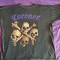 Coroner - TShirt or Longsleeve - Coroner '90 tour shirt SIZE EXCHANGE