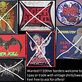 Nuclear Assault Annihilator Dark Angel Exodus Overkill - Patch - Patch wanted list buying or trading