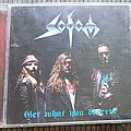 Sodom Get what you deserve Tape / Vinyl / CD / Recording etc